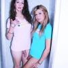 Shelesbians Nikki Montero & Renata make out in the shower